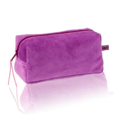 Farbenfreunde Crocus Velvet Cosmetic Bag