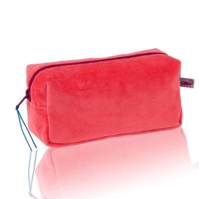 Farbenfreunde Hibiscus Velvet Cosmetic Bag