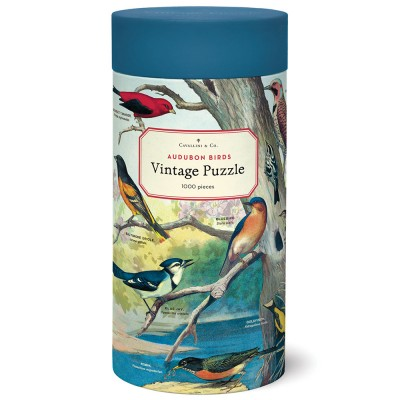 Cavallini & Co Audubon Birds 1000 Piece Jigsaw