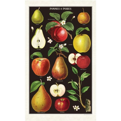 Cavallini & Co Tea Towel - Apple & Pears