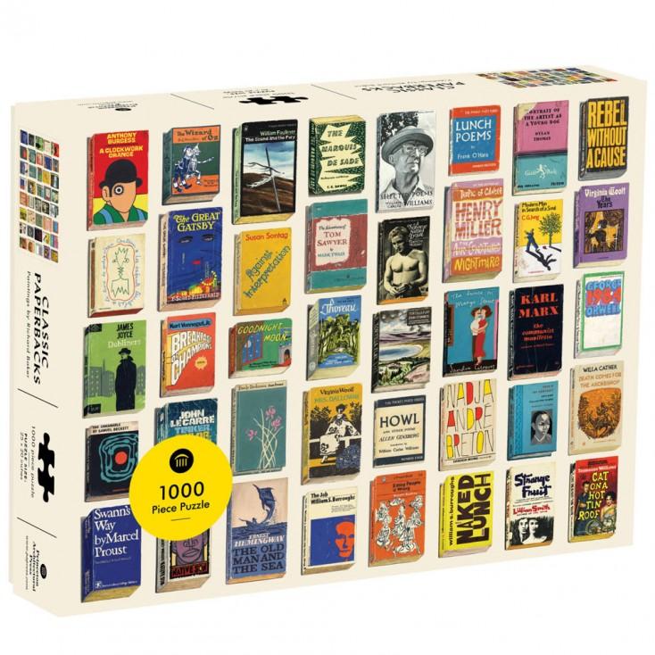 Classic Paperbacks 1000 Piece Jigsaw