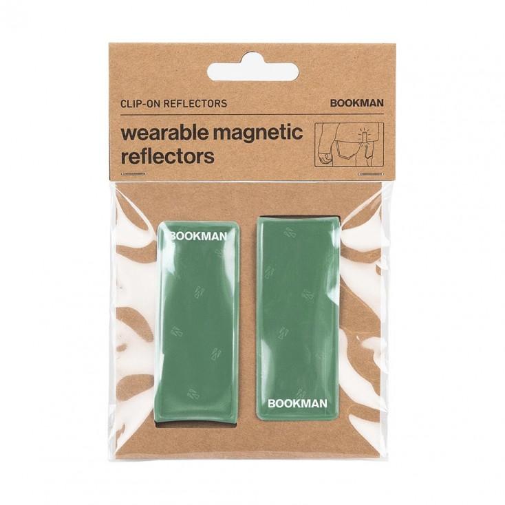 Bookman Clip-On Reflectors - Green