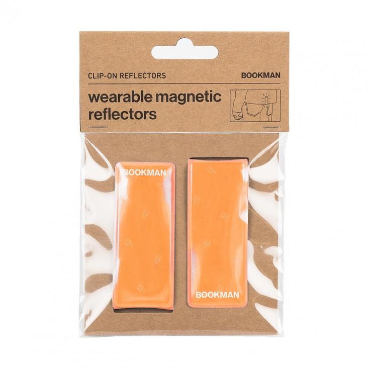 Bookman Clip-On Reflectors - Orange