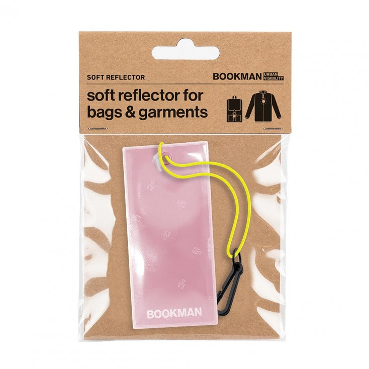 Bookman Rectangular Hanging Reflector- Pink