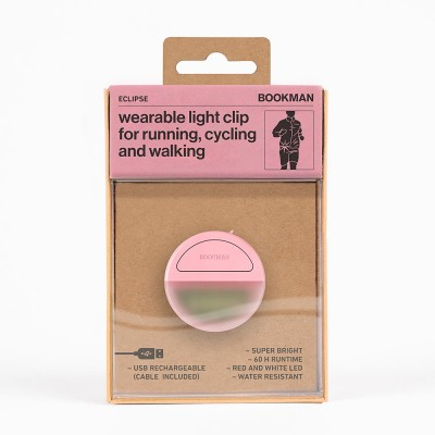 Bookman Eclipse Wearable Light Clip - Pink
