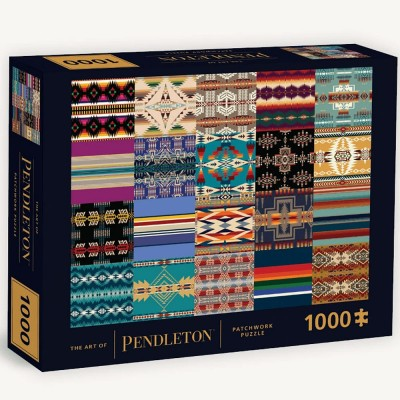 The Art of Pendleton Patchwork 1000 Piece Jigsaw
