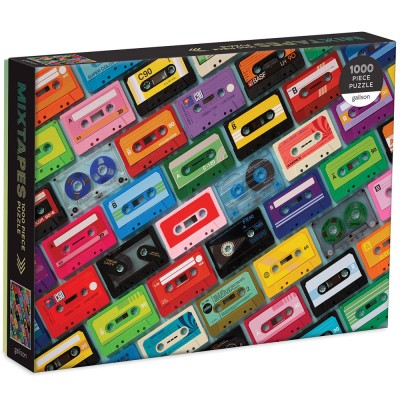 Mixtapes 1000 Piece Jigsaw Puzzle