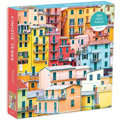 Galison Ciao from Cinque Terre 500 Piece Jigsaw Puzzle