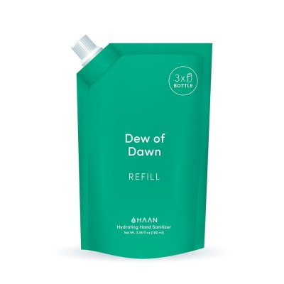 Haan Hand Sanitiser - Dew of Dawn 100 ml Refill