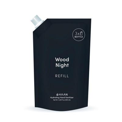 Haan Hand Sanitiser - Wood Night 100 ml Refill
