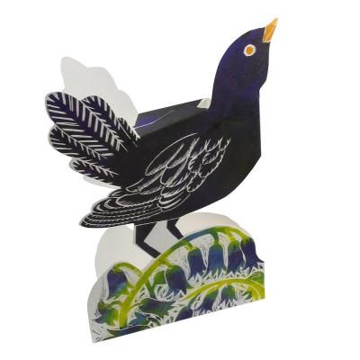 Judy Lumley Blackbird 3D Card