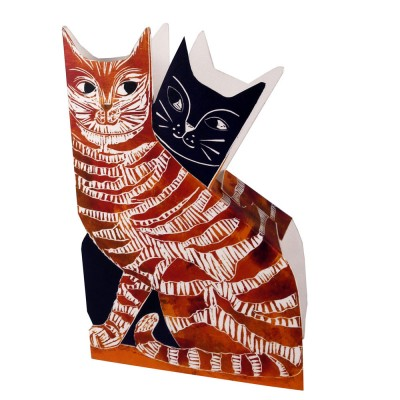 Judy Lumley Love Cats 3D Card
