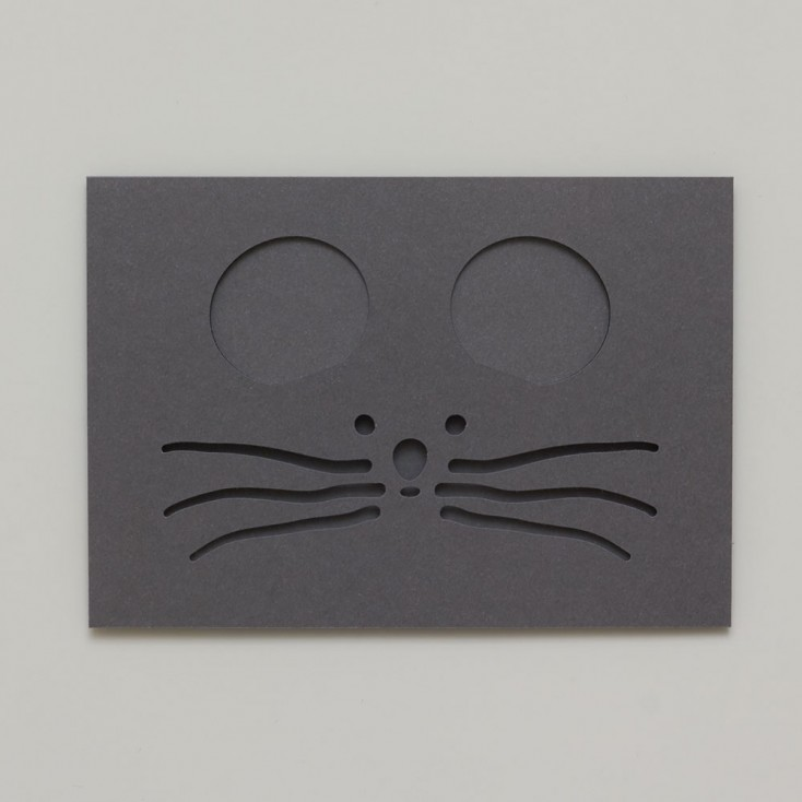 Dotsy Mouse Greeting Card
