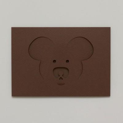Dotsy Bear Greeting Card