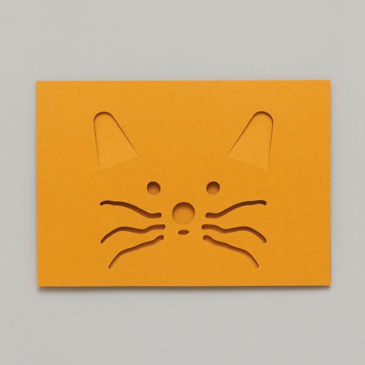 Dotsy Cat Greeting Card
