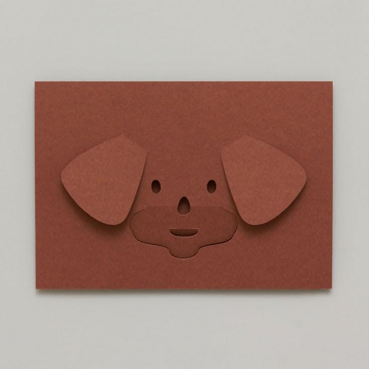 Dotsy Dog Greeting Card