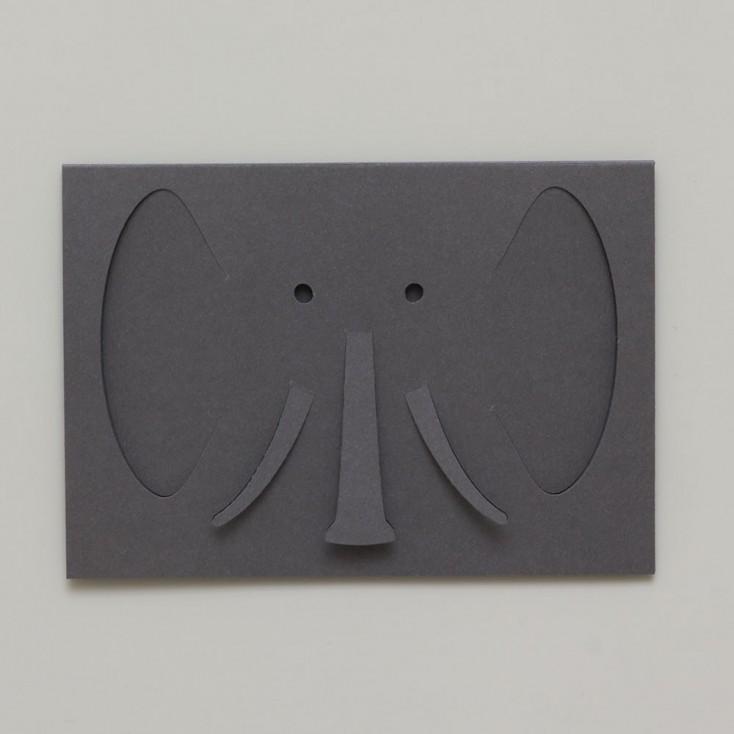 Dotsy Elephant Greeting Card