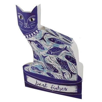 Judy Lumley Best Fishes 3D Card