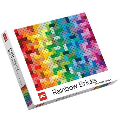 LEGO® Rainbow Bricks 1000-Piece Jigsaw