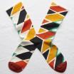 Bonne Maison Socks - Multico Zigzag