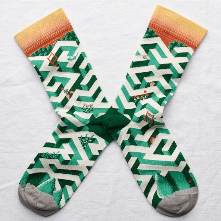 Bonne Maison Socks - Maze