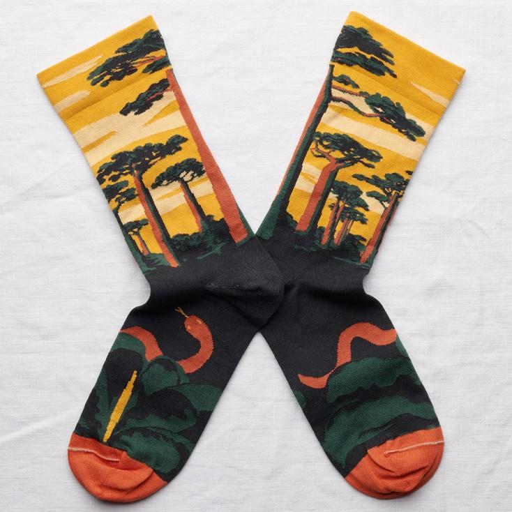 Bonne Maison Socks - Buttercup Baobab