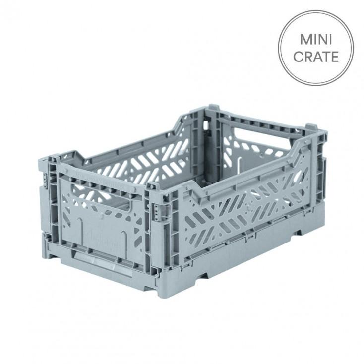 Aykasa Folding Crate Mini - Pale Blue