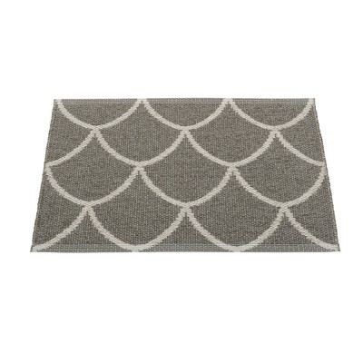 Pappelina Kotte Small Mat 70 x 50 cm - Charcoal : Warm Grey