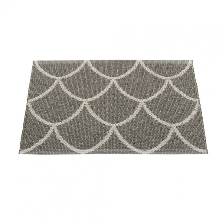 Pappelina Kotte Small Mat 70 x 50 cm - Charcoal : Warm Grey