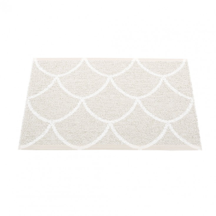 Pappelina Kotte Small Mat 70 x 50 cm - Fossil Grey : White