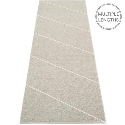 Pappelina Warm Grey : Vanilla Randy Runner - 70 x 225 cm