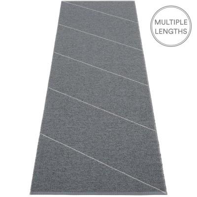 Pappelina Granit : Grey Randy Runner - 70 x 225 cm