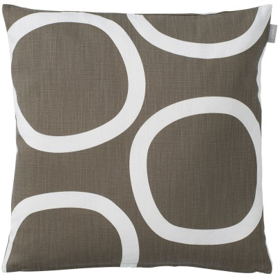 Spira of Sweden Loop Cushion Cover - Brown