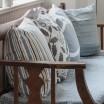 Spira Loop Cushion Cover - Light Smoke Blue