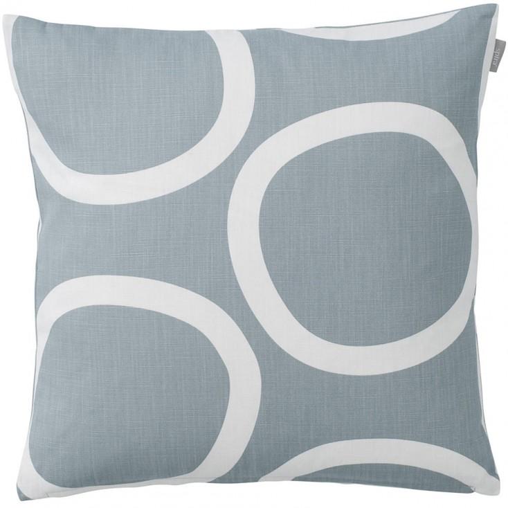 Spira of Sweden Loop Cushion Cover - Light Smoke Blue