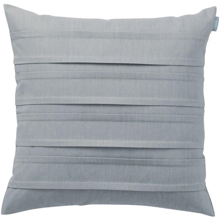 Spira of Sweden Pleat Cushion Cover - Light Smoke Blue