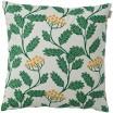 Spira of Sweden Renfana Green Cushion