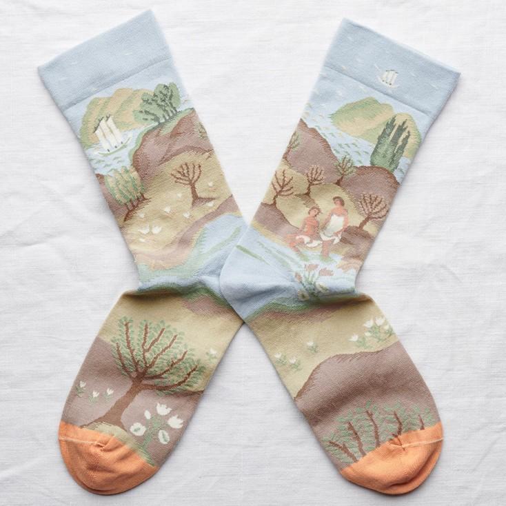 Bonne Maison Socks - Sky Bathing