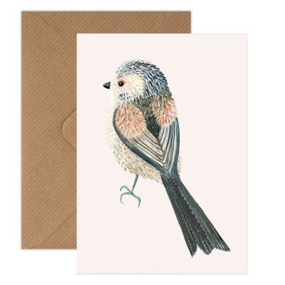 Susie Hamilton Long-Tailed Tit Greeting Card