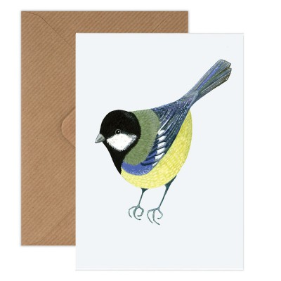 Susie Hamilton Great Tit Greeting Card