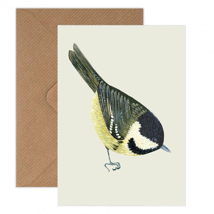 Susie Hamilton Coal Tit Greeting Card