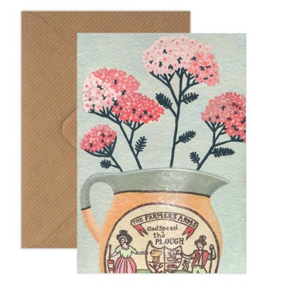 Susie Hamilton Yarrow Greeting Card