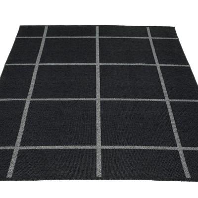 Pappelina Ada Large Rug 180 x 260 cm - Black|Granit Metallic