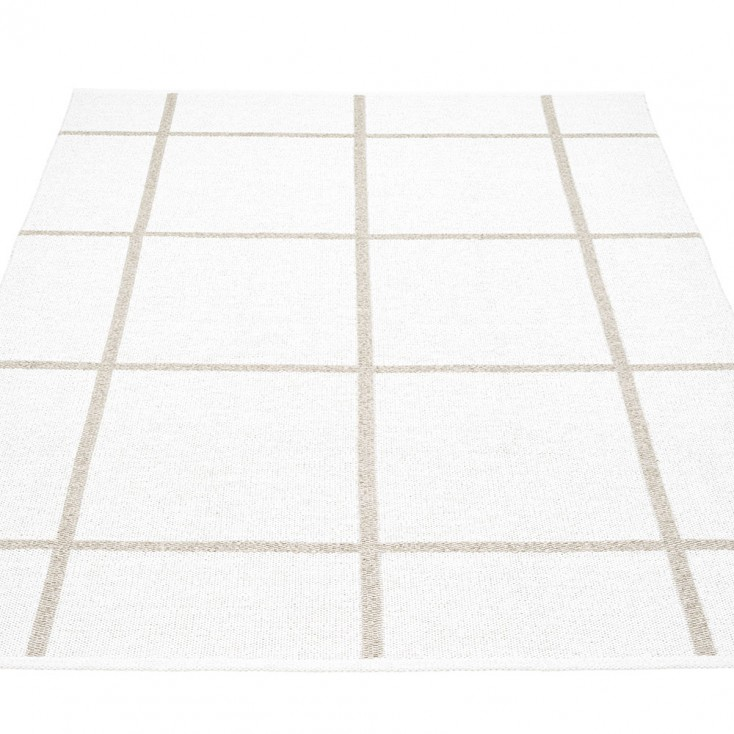 Pappelina Ada Large Rug 180 x 260 cm - White