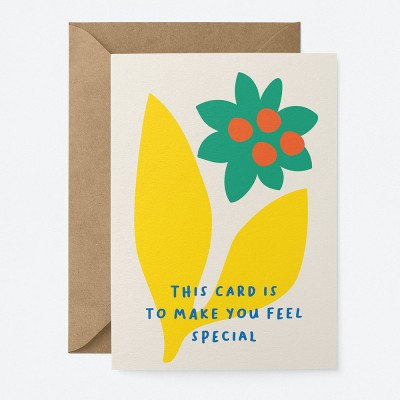 Graphic Factory Feel Special Greeting Card