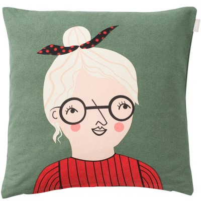 Spira of Sweden Face Cushion Cover - Bodil