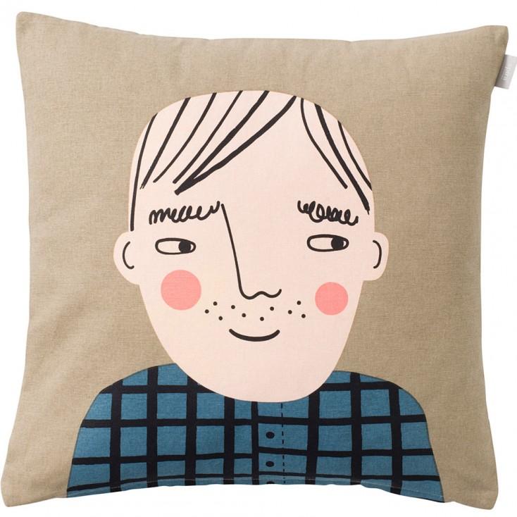 Spira of Sweden Face Cushion Cover - David
