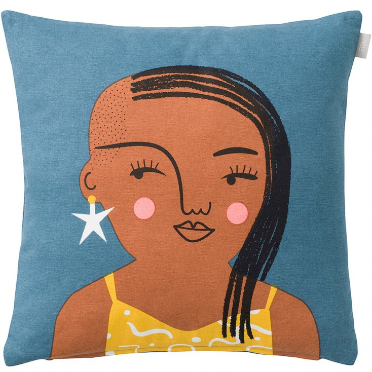 Spira of Sweden Face Cushion Cover - Stella