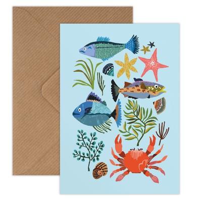Brie Harrison Greeting Card - Seaside