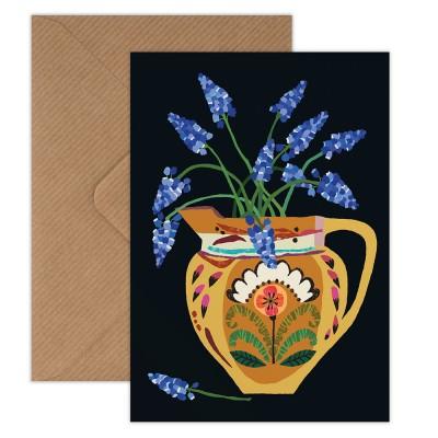 Brie Harrison Greeting Card - Muscari Flowers